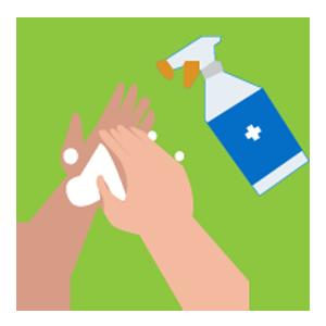 acton covid precaution, hand sanitize